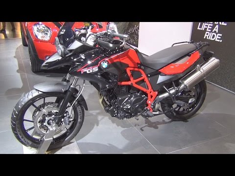 BMW Motorrad F 700 GS 2016 Exterior and Interior in 3D