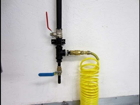 Shop Compressor Pipe Setup Youtube