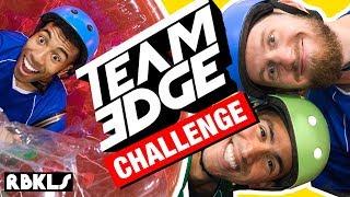 LEGO + TEAM EDGE Obstacle Course CHALLENGE! - REBRICKULOUS