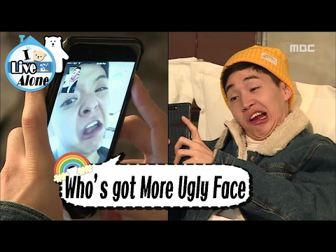 [I Live Alone] 나 혼자 산다 -Henry VS Amber, 'Ugly Battle' 20170203