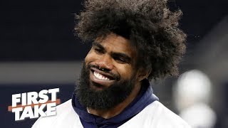 Ezekiel Elliott's holdout is bad for the Cowboys - Marcus Spears | First Take