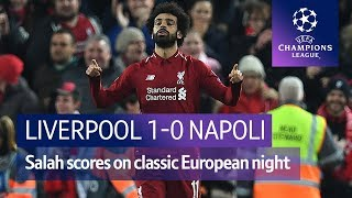 Liverpool vs Napoli (1-0) UEFA Champions League highlights