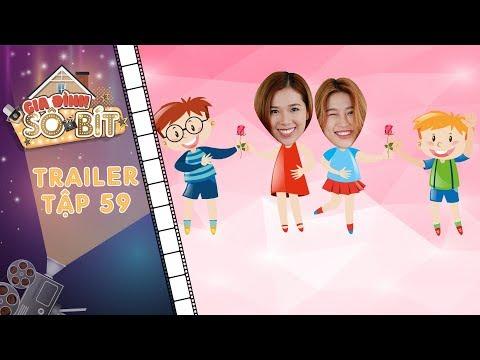 Gia đình sô - bít|Trailer tập 59: Thiên Thanh, Ly Ly tươi như hoa vì có nam thần tặng bông mỗi ngày?