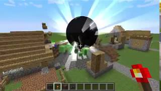 Minecraft Black Hole VS Village (Mod) (READ DESCRIPTION)