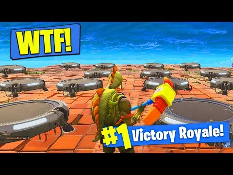 The MOST LAUNCH PADS EVER In Fortnite Battle Royale!