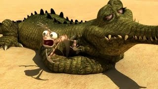 Oscar's Oasis 2015 - Oscar's Oasis Cartoon - Fight With Crocodile
