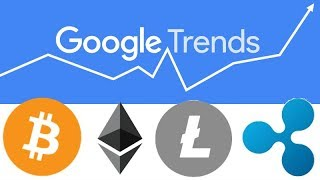 Using Google Trends to research Demand & Interest for Cryptocurrencies - BTC ETH LTC XRP