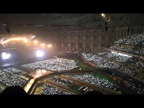 151010 엑소팬미팅 에리들 노래한다!! EXO-Love concert eldorado엘도라도 떼창