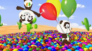 Learn Colors with Finger Family Songs   Best of Panda Bo Body Paint Videos for Kids MosCatalogue net