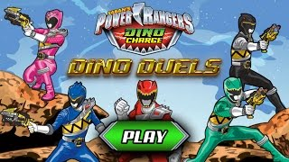 Games: Power Rangers Dino Charge - Dino Duels