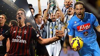 Supercoppa Italiana, Tutti i Gol delle Ultime Dieci Finali