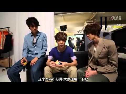 120120 [中字] SHINee[W Live with S.M. Fashionistas]Clip1~9完整