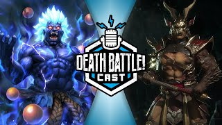 Akuma VS Shao Kahn w/ Chris Kokkinos | DEATH BATTLE Cast #217
