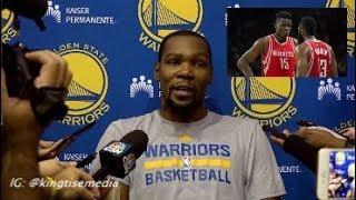 Kevin Durant Says Clint Capela