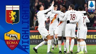 Genoa 1-3 Roma | Genoa Remain In Relegation Zone After Dominant Roma Victory | Serie A