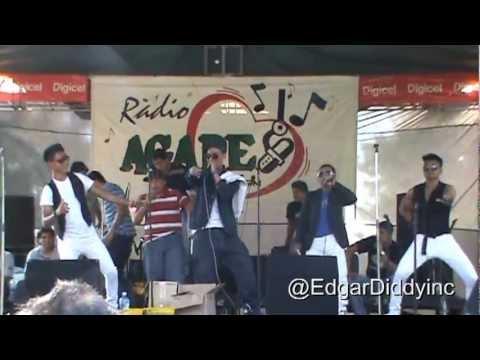 Edgar Diddy El Mandatario Rumba Latina Aniversario 23 Agape Radio 90.1 Tour 2013 Sonsonate