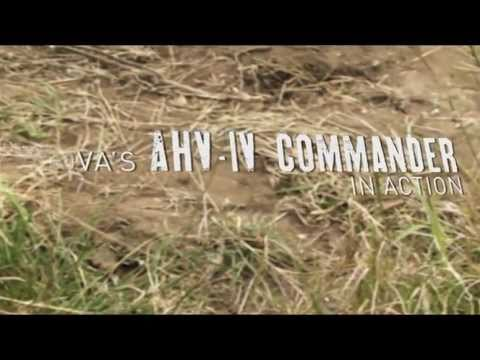 INOVA's AHV-IV Commander in Action