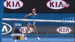 Serena Williams Vs Ana Ivanovic Australian Open 2014 Round 4