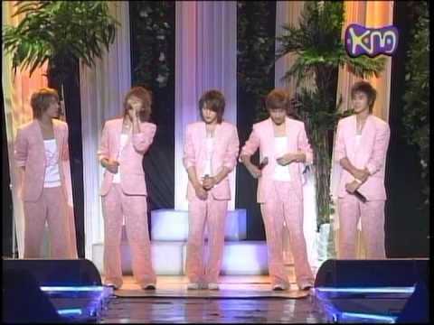 DBSK Comeback Special - Hiyaya + I Wish 20050708 km show music tank