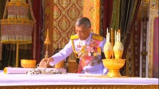 Thailand: Royal ashes collection ceremony