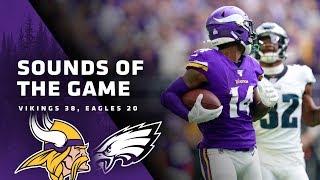 Sounds of the Game: Minnesota Vikings 38, Philadelphia Eagles 20
