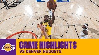 HIGHLIGHTS   LeBron James (29 pts, 12 ast, 5 3pm) vs Denver Nuggets
