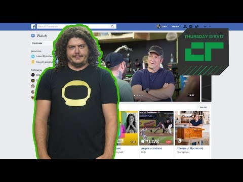 Facebook Launches 'Watch' for Original Shows   Crunch Report