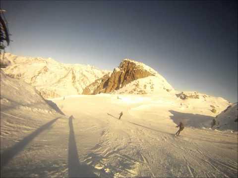 Presena, pista Paradiso, Adamello ski