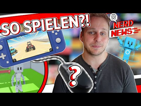 Erstes Switch Spiel mit Maus Unterstützung! / 25 Exklusive Playstation Titel kommen! - NerdNews