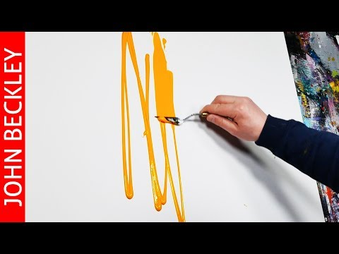 Comment faire une peinture abstraite – Idyle