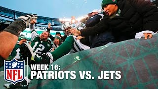 Jets Game-Winning Overtime Touchdown Drive   Patriots vs. Jets   NFL