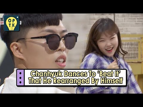 [Oppa Thinking - AKMU] Chanhyuk Dances To The 'Beat It' And Suhyun's Cute Dance 20170617