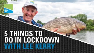 Thumbnail image for 5 Things To Do In Lockdown! | Fishing Tips With Lee Kerry