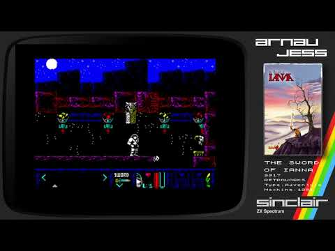 The SWORD of IANNA Zx Spectrum by RETROWORKS