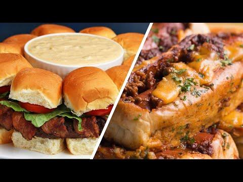 6 Ways to Upgrade Your Hamburger and Hotdog Game ? Tasty Recipes
