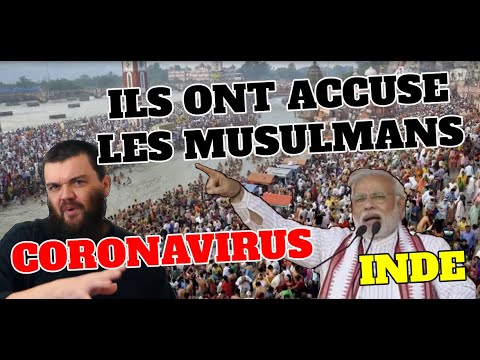 ILS ONT ACCUSE LES MUSULMANS DE REPANDRE LE CORONAVIRUS - INDE