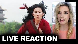 Mulan Trailer 2020 REACTION