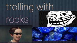 Trolling people with blue rocks (vlog#1)