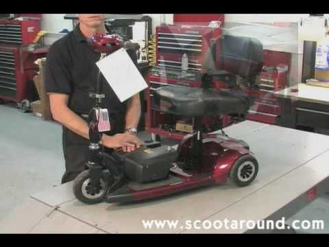 How to Disassemble a BladeZ Scooter for Transport