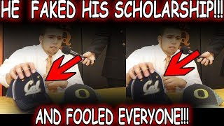 What Happened to the Kid who FAKED A SCHOLARSHIP TO CAL? (And How He Fooled Everyone!)