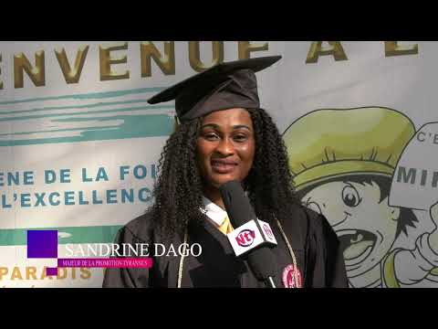 Cérémonie de graduation des étudiants de l'Institut Biblique les Beréens ( IBB)