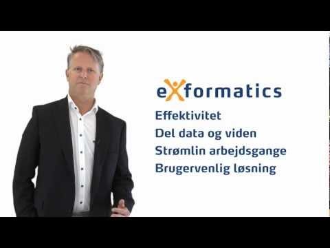 Exformatics = arbejdsglæde, effektivitet og samarbejde