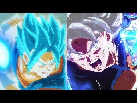 Vegito vs MUI Goku Power Levels (Dragon Ball Super)