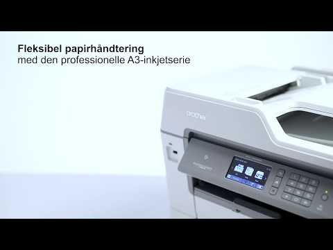 Professionel inkjetprinterserie - fleksibel papirhåndtering