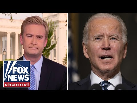 Peter Doocy confronts Biden over latest mask guidance
