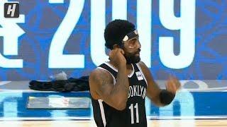 Kyrie Irving Masked! Lakers vs Nets | October 10, 2019 | 2019 NBA Preseason
