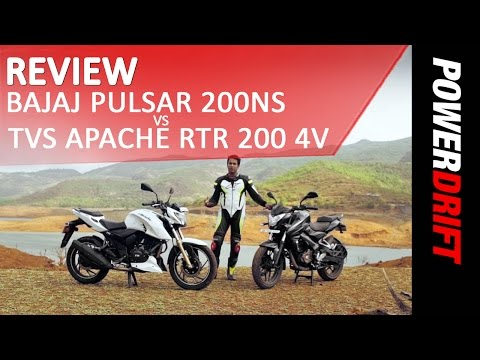 TVS Apache RTR 200 4V Videos | Comparisons, Road Test