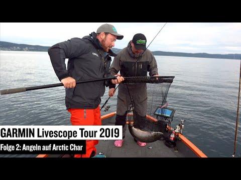 Garmin Livescope Tour 2019 Folge 2: Grundlagen für das Bootsangeln mit Garmin LIVESCOPE