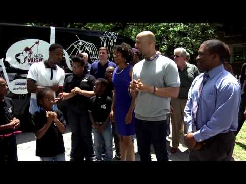 "Maaco and Meineke Join Common for Surprise on ""Knock Knock Live"""