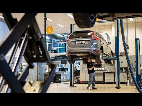 Bilias Volvo-forhandlere holder åpent.